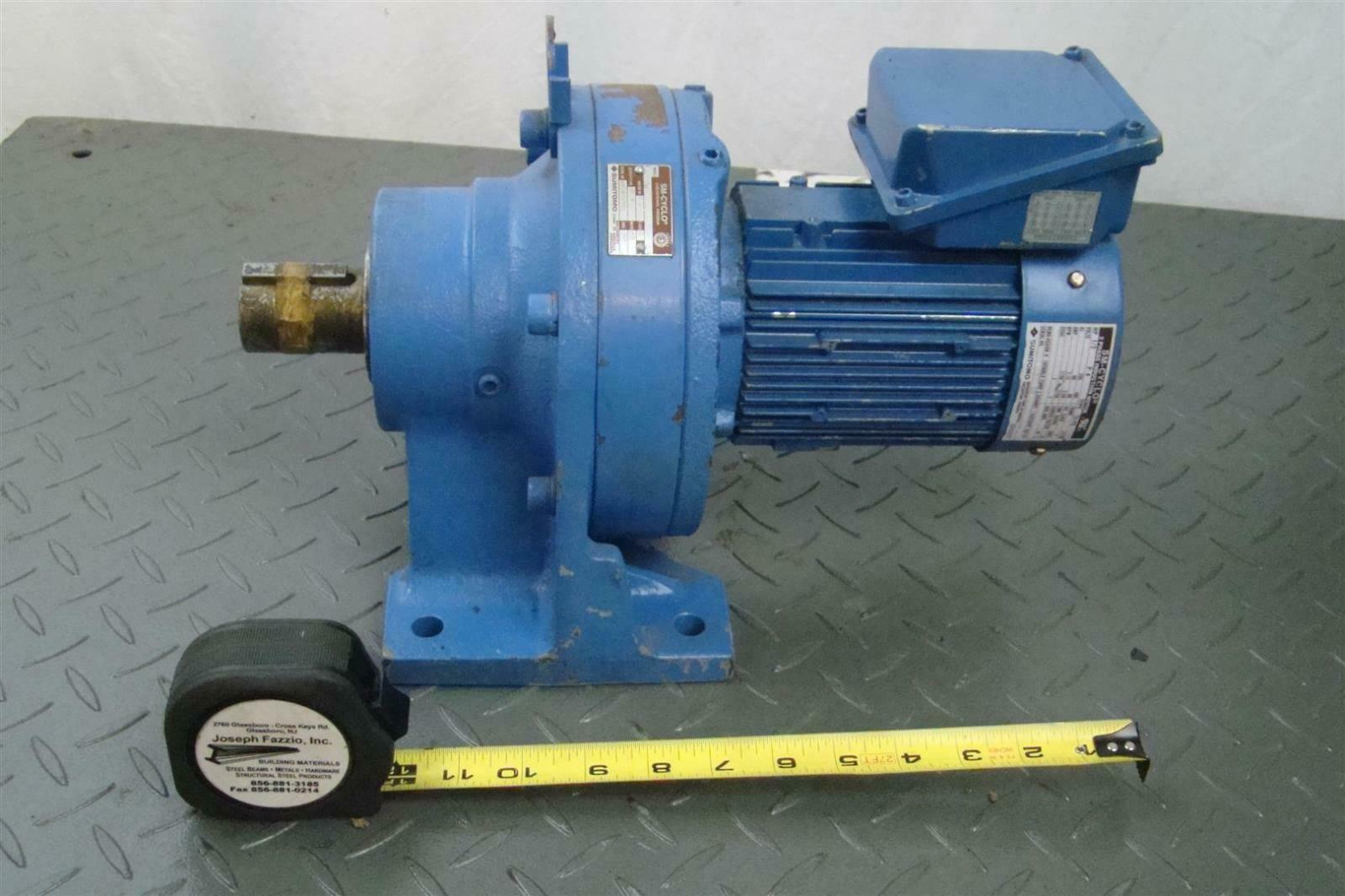 Sumitomo Sm Cyclo Cnhm05 6128vc 43 Induction Motor 1 2hp 230v 1750 Rpm Tc Fx Ebay