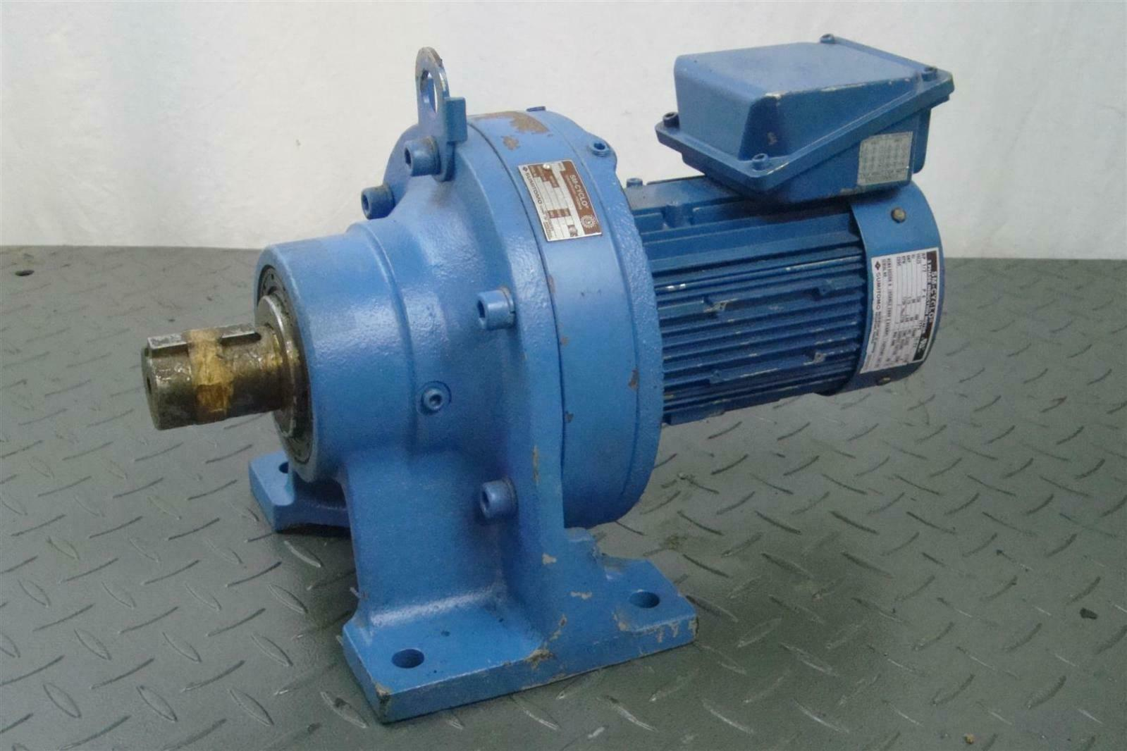 Sumitomo Sm Cyclo Cnhm05 6128vc 43 Induction Motor 1 2hp 230v 1750 Rpm Tc Fx