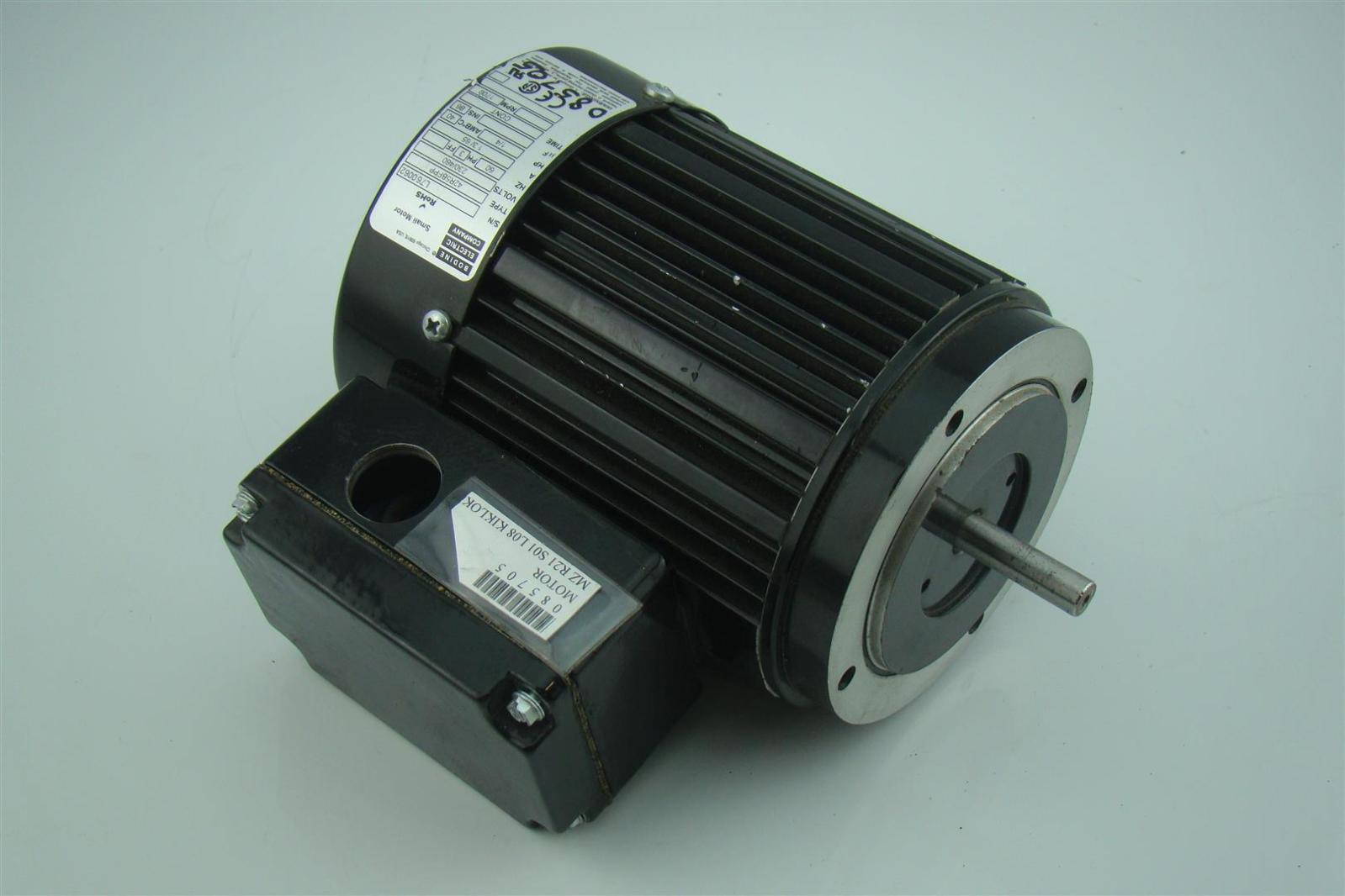 Bodine electric co 1 4 hp 3 ph electric motor 1700 rpm for 4 horsepower dc motor