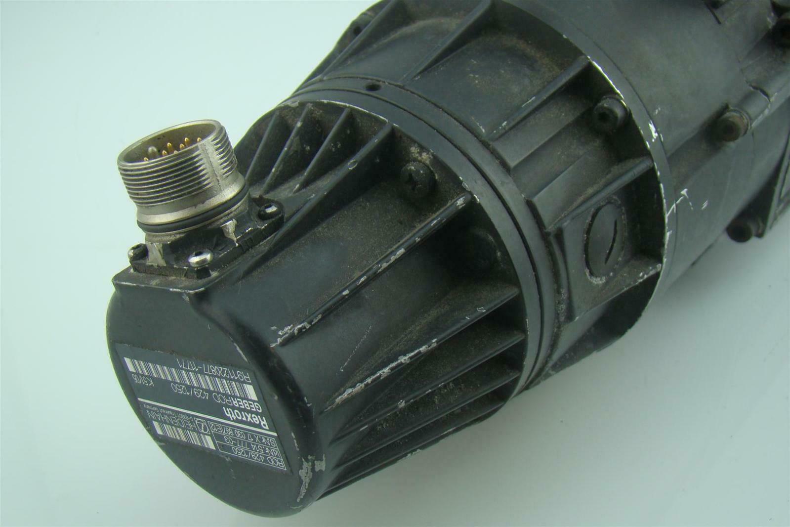 Rexroth Indramat Permanent Magnet Motor Mac071c 0 Js 4 C