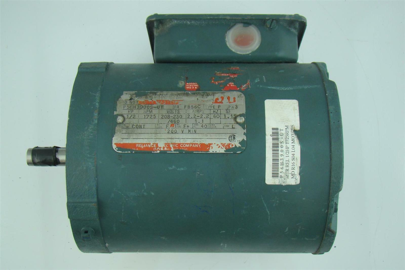 #864938 RELIANCE ELECTRIC COMPANY AC MOTOR 1/2HP 1725RPM 230/460V  Best 3103 Furnace Parts Utah photos with 1599x1066 px on helpvideos.info - Air Conditioners, Air Coolers and more