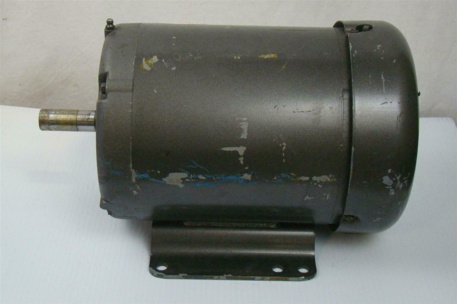 Baldor industrial motor 1 hp 208 460v 1140rpm m3604 ebay for Baldor industrial motor parts