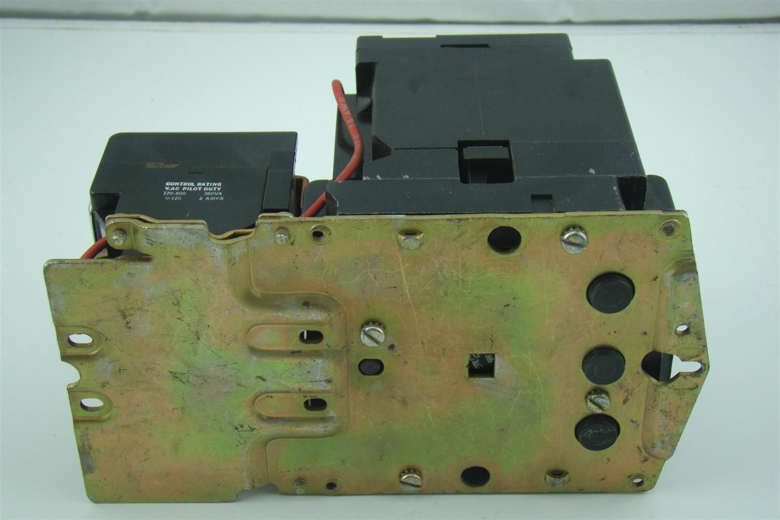 Square d size 2 motor starter 8536sd01s for Square d motor starter