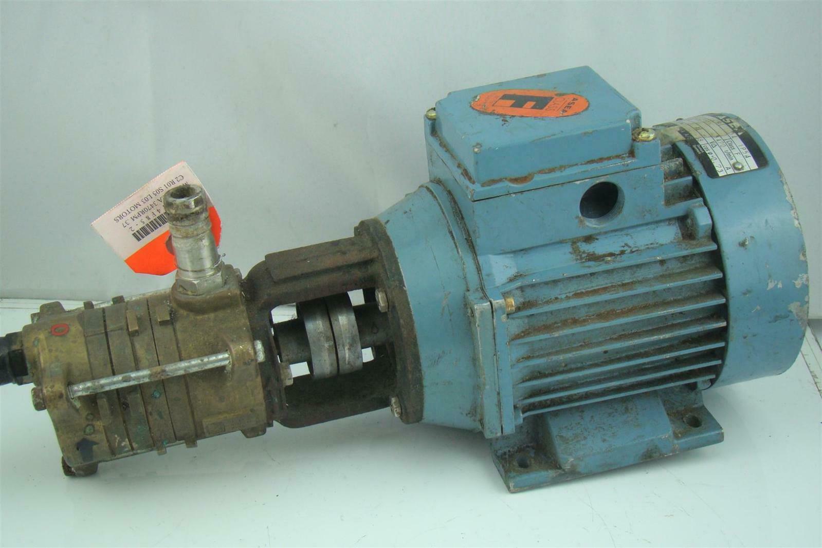 Asea Hydraulic Pump Electric Motor 3470rpm Mt71a14f85 2