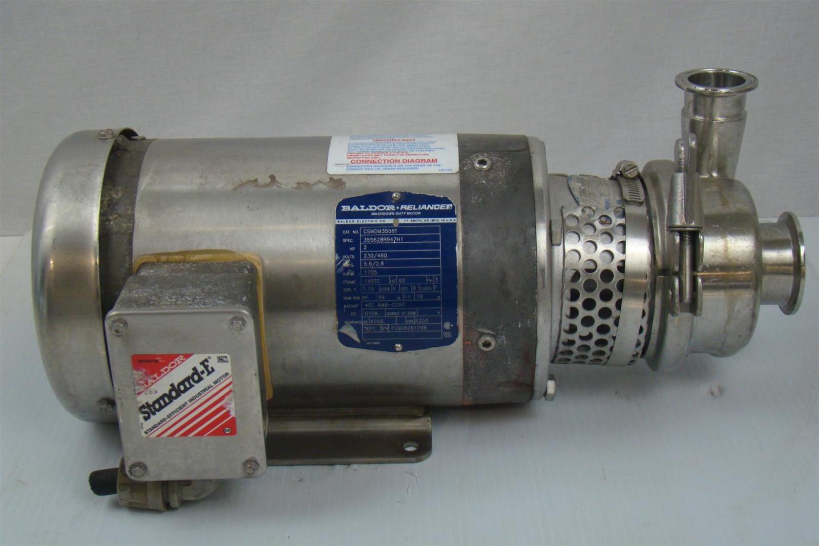 Baldor Cswdm3558t Motor 2hp 1725rpm W Thomsen 49822 Ga