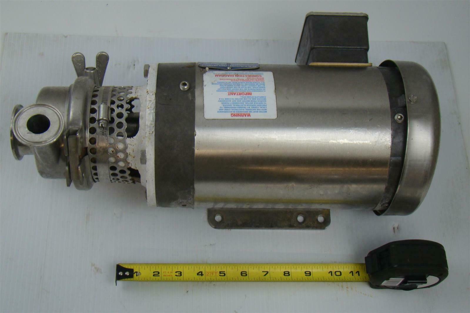 Pump baldor reliancer 2 hp 208 230 460v 3450 rpm for Baldor reliance motor parts