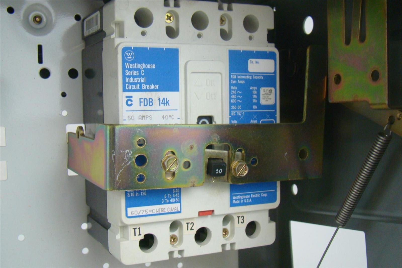 westinghouse series c industrial breaker in breaker box 50 ... breaker fuse box replacement