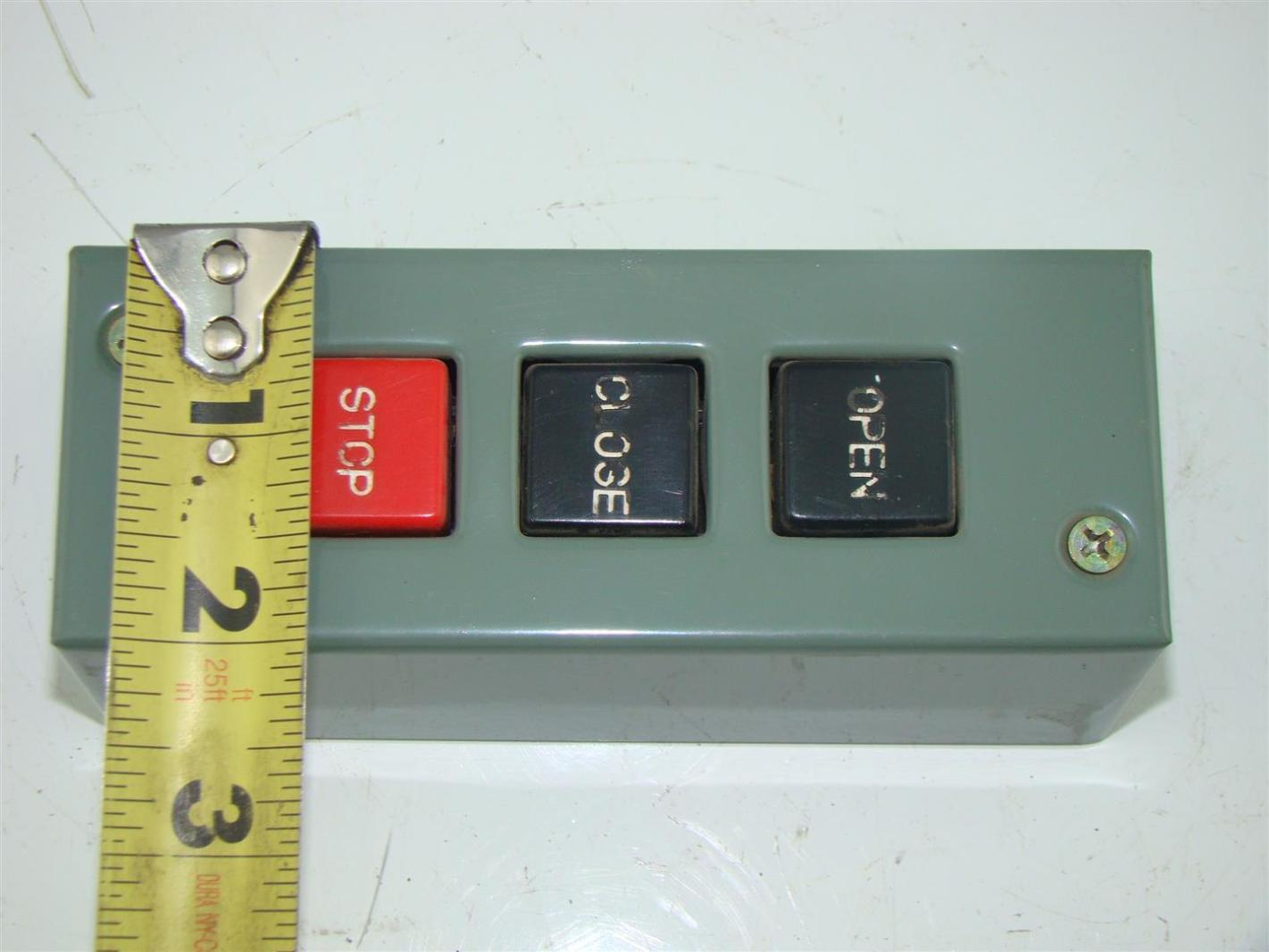 mmtc inc pbs 3 commercial garage door three button switch 5 amps joseph fazzio incorporated