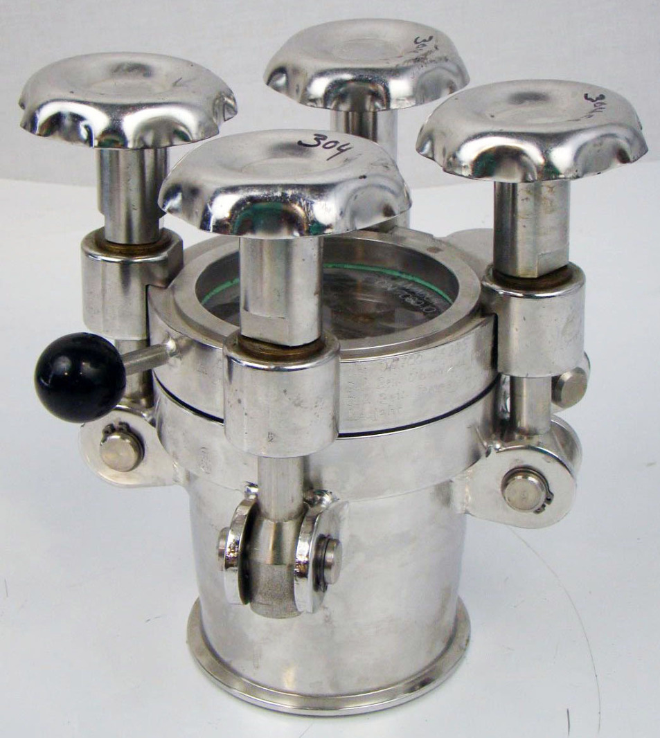 Sanitary porthole sight glass ilmadur stainless tri
