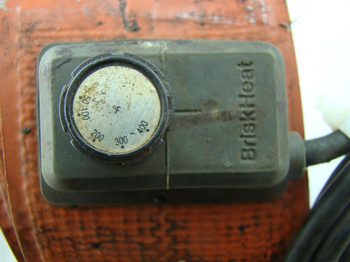 Briskheat Drum Heater 120v Joseph Fazzio Incorporated