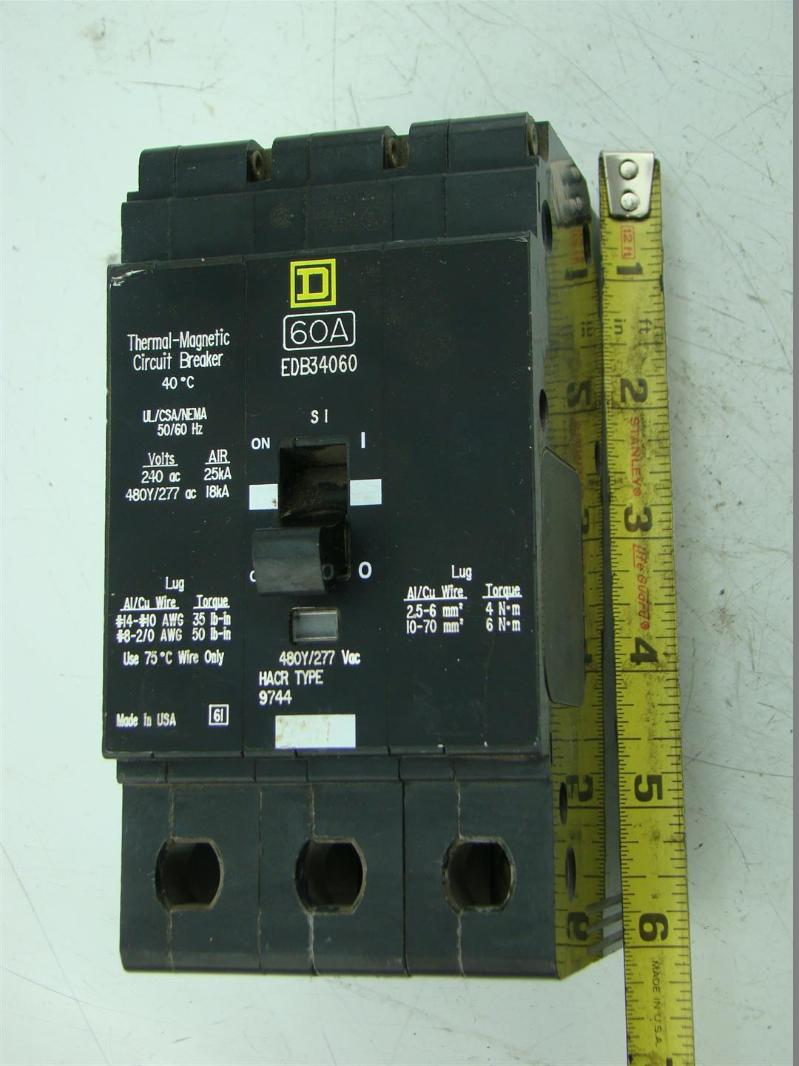 Snap Square D Ma 3800 F Circuit Breaker Molded Case 600v 600amp 3 Zinsco Breakers New Used And Obsolete Breakerconnection Thermal Magnetic 240v Pole 60a