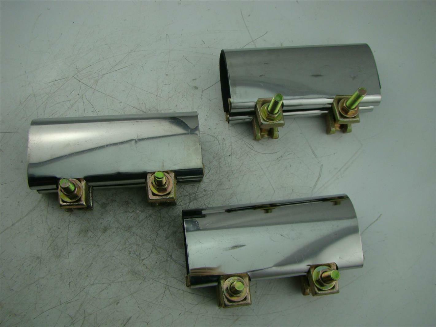 Qty mueller quot pipe repair clamps ebay