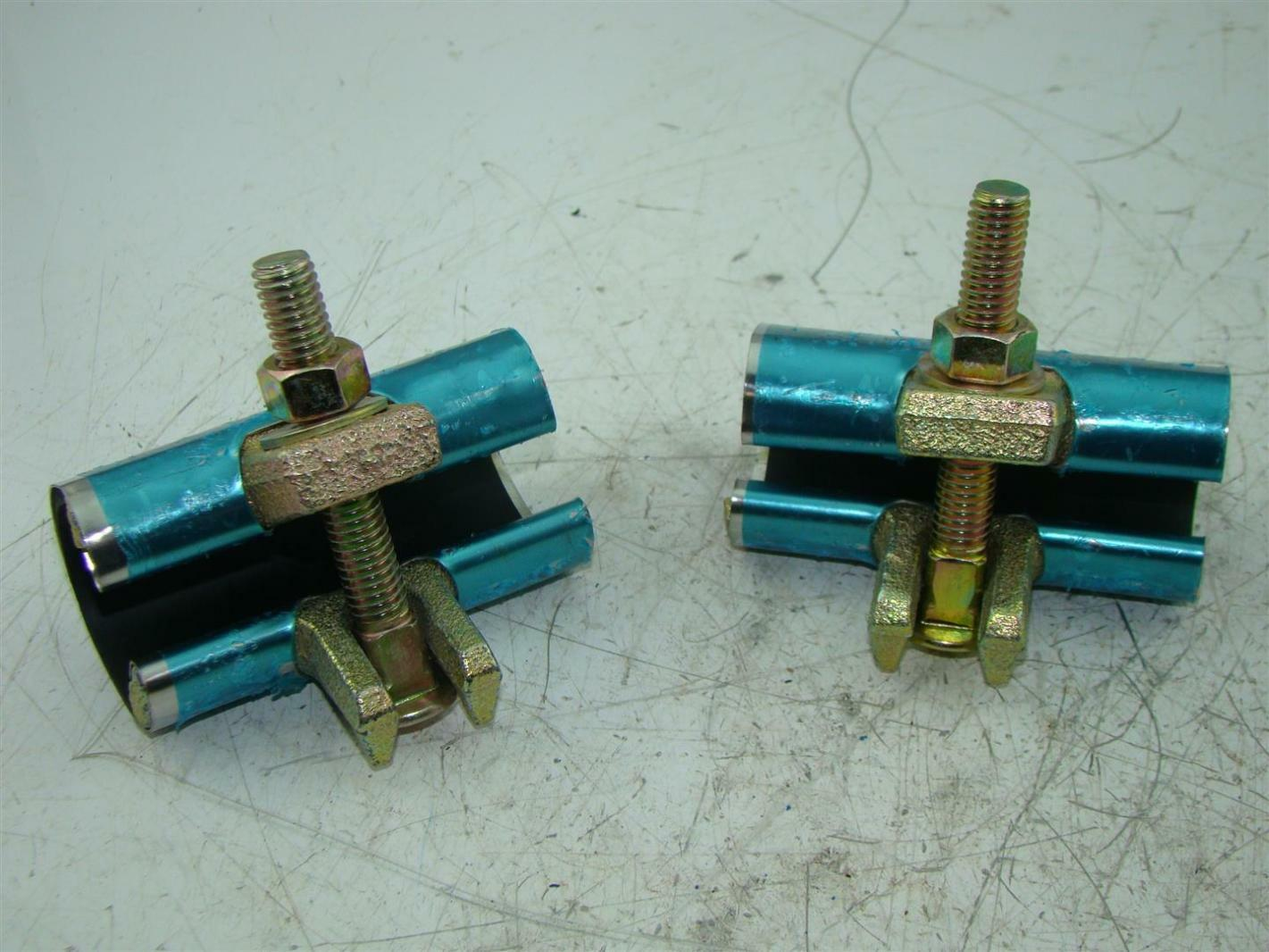 Qty mueller quot pipe repair clamps
