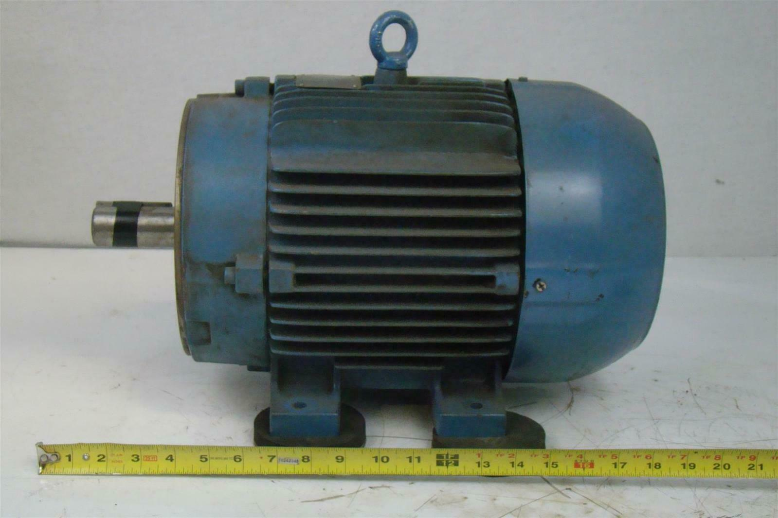 Weg motor 7-1/2HP W21 ph3 380/460V 2885/3515rpm w .375 ...