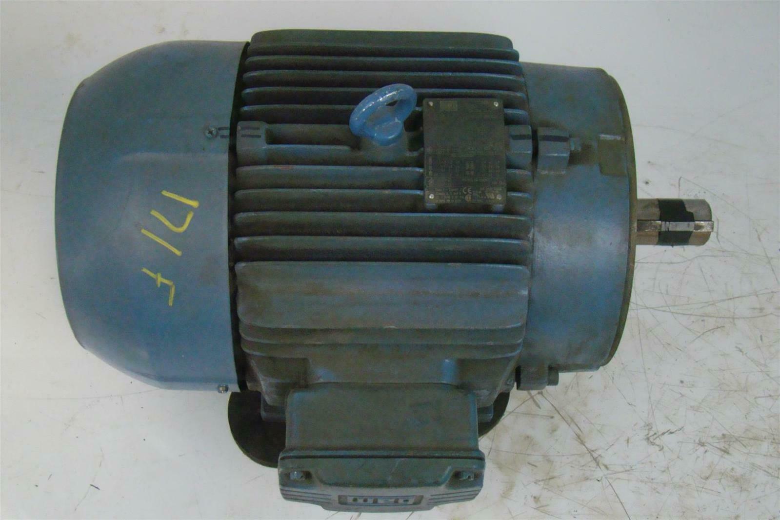 Weg motor 7 1 2hp w21 ph3 380 460v 2885 3515rpm w 375 for Weg severe duty motor