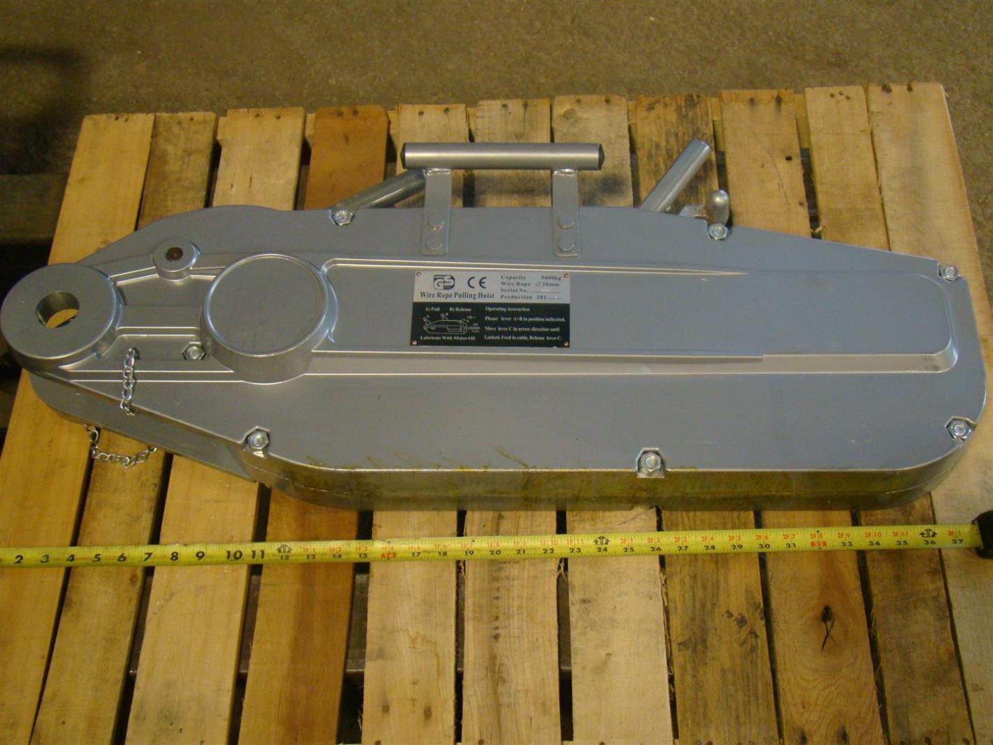 GS Wire Rope Pulling Hoist 20mm 5400 kg cap. 15003 | Joseph Fazzio ...