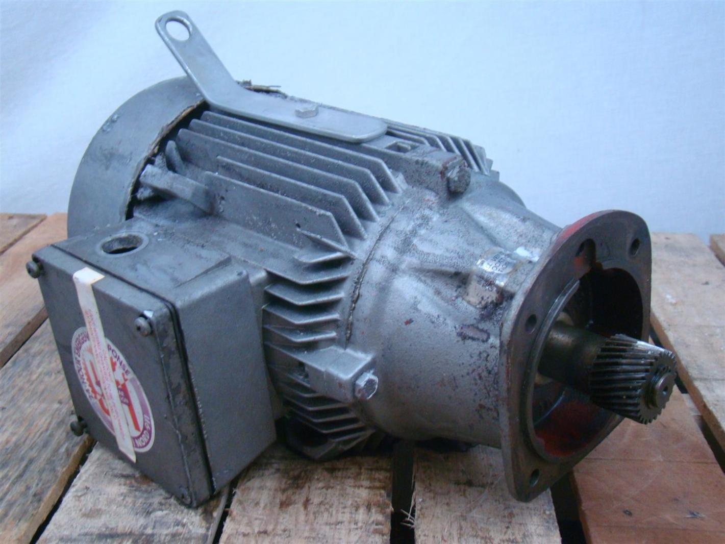 Siemens Electric Motor 3ph 230 460v 1la5107 4ba99 Z