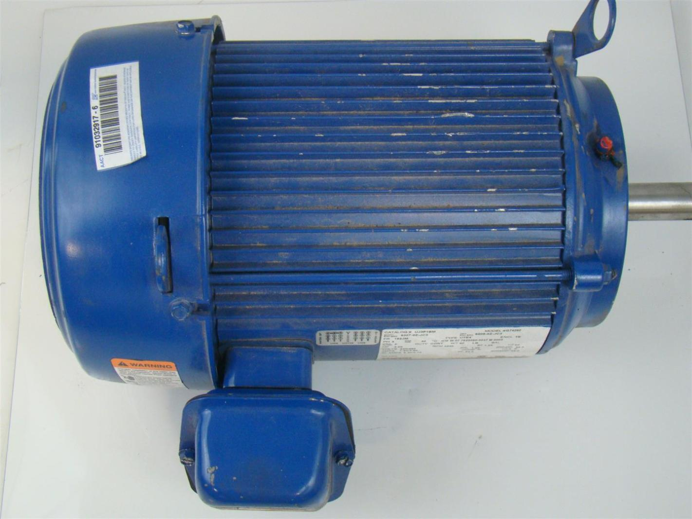 Us Motor Electric Motor Ph3 3hp 3540rpm 230 460v