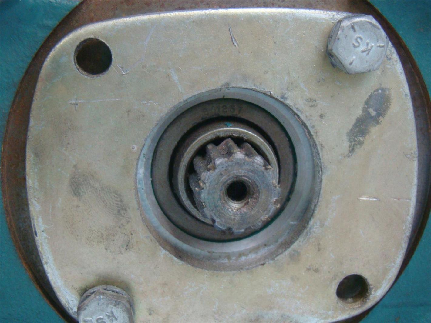 Reliance Electric Master Gearmotor Gearbox Ratio 50 1 1