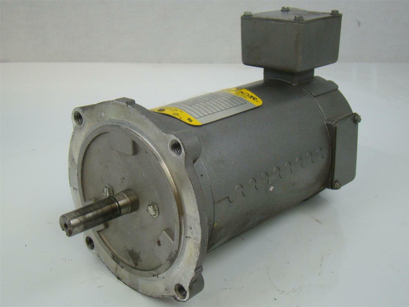 Baldor Industrial Dc Motor 25hp 1750rpm 2 5a Gdp3310