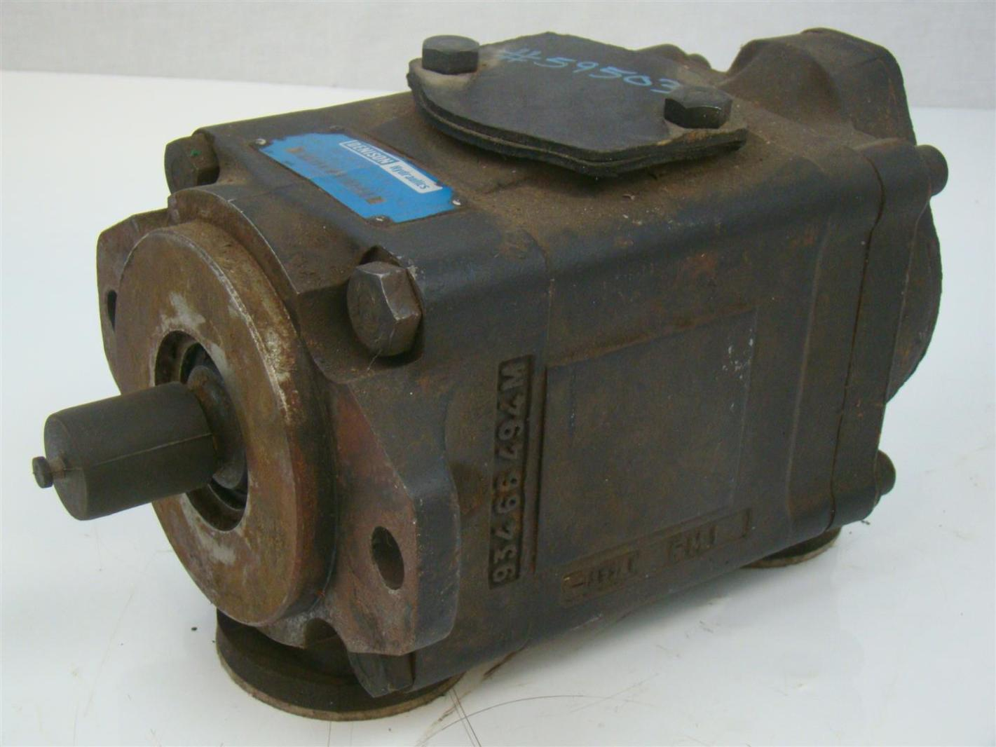 DENISON HYDRAULIC PUMP  1 1/2