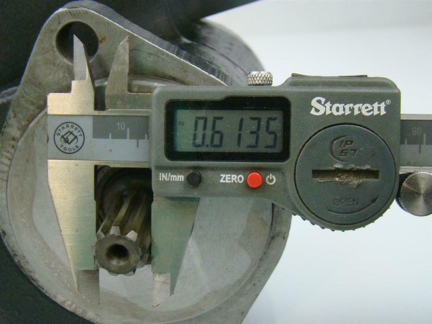 TUROLLA HYDRAULIC MOTOR  SHAFT = .61