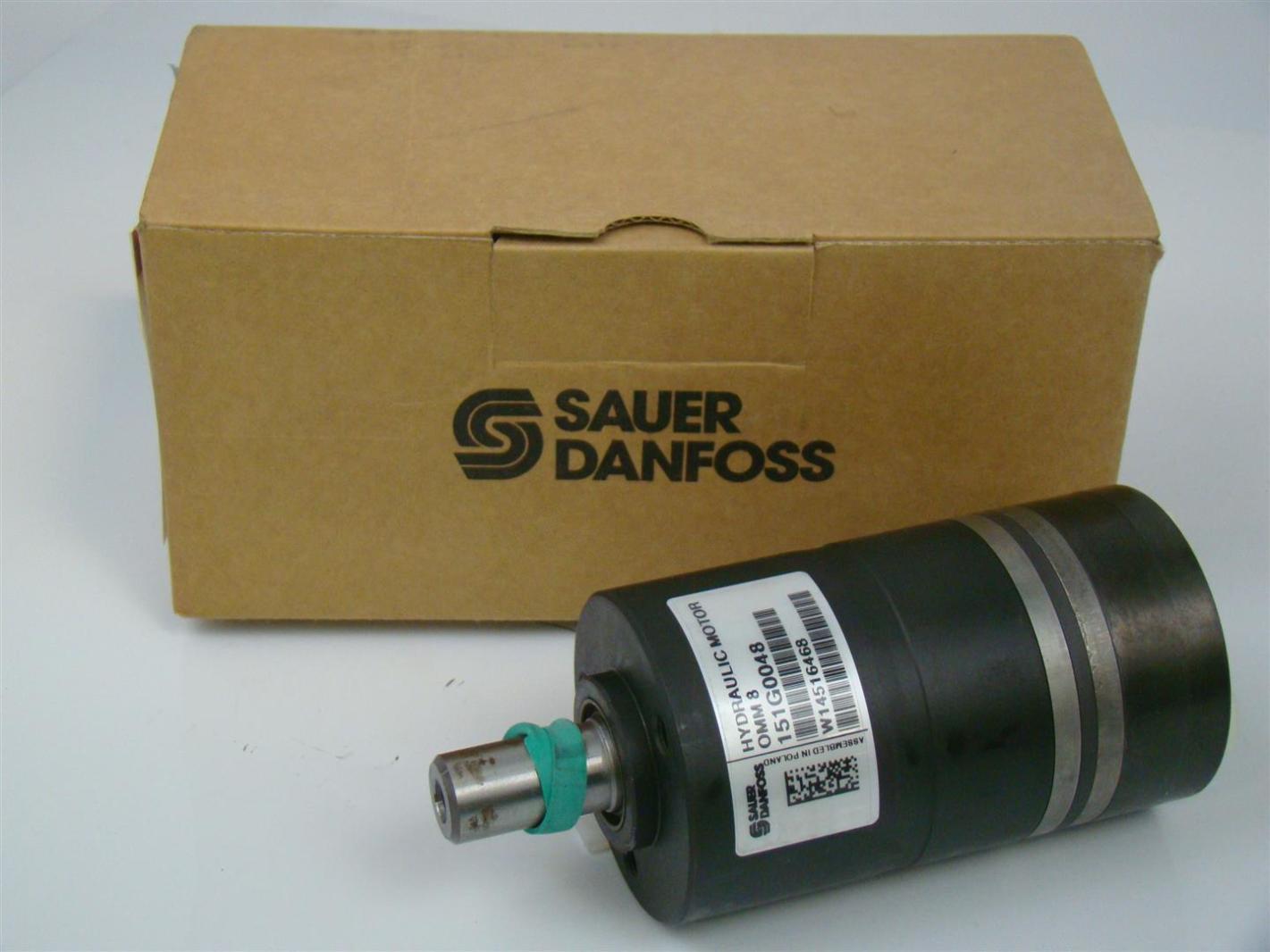 Sauer Danfoss Hydraulic Motor Omm 8 62 Shaft 151g0048
