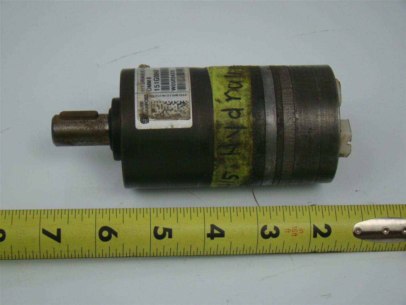 Sauer Danfoss Hydraulic Motor 62 Shaft151g0048 Joseph