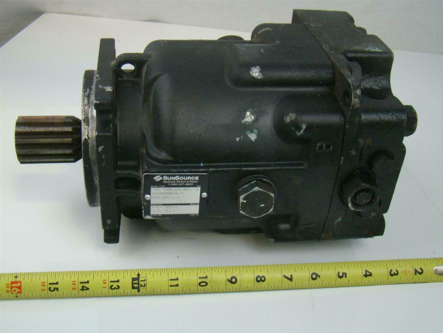 SAUER DANFOSS AXIAL PISTON HYDRAULIC MOTOR 1.72 SHAFT 90M100NC0N8N0F1
