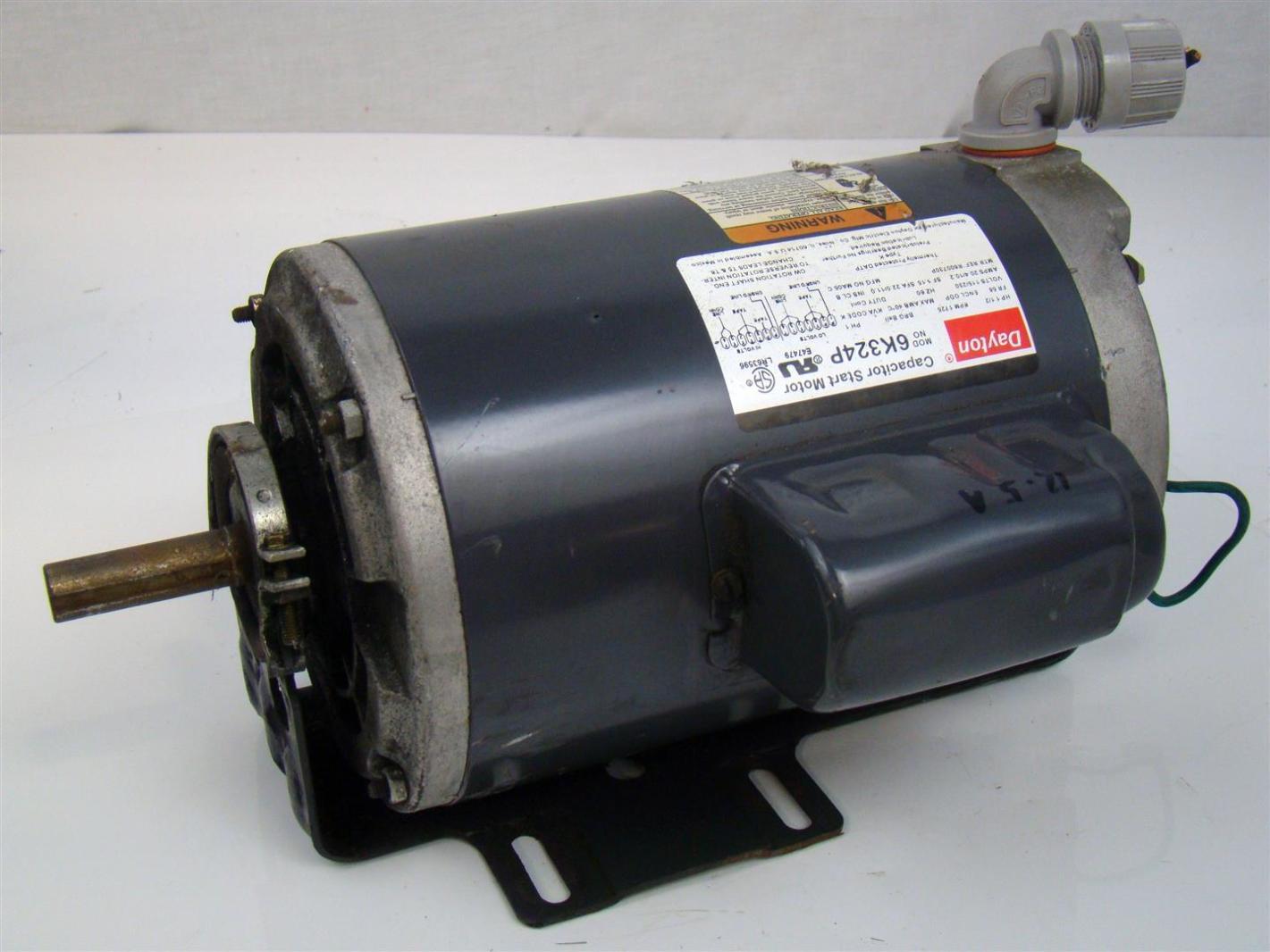 Dayton motor run capacitor 10 28 images dayton 2mdv9 for Dayton capacitor start motor