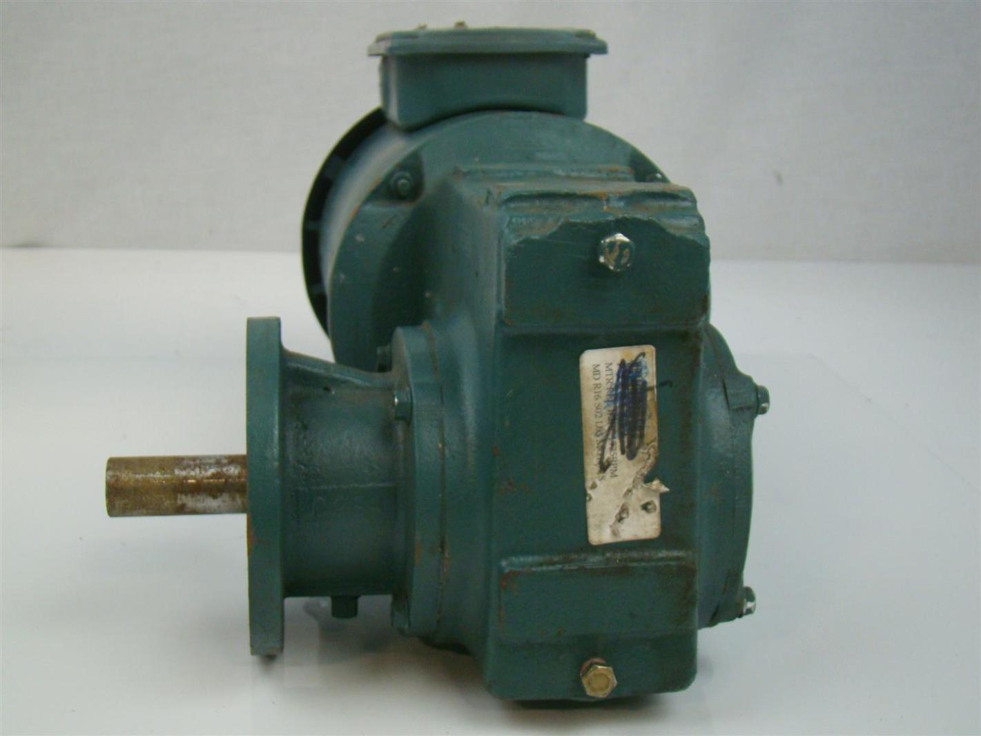 Reliance electric duty master ac motor 1 2 hp 1725rpm 230 for Reliance electric motor parts