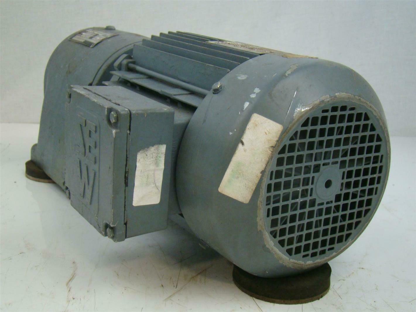 Sew eurodrive motor 1700rpm r60a dt100l4 ebay for Sew motors and drives
