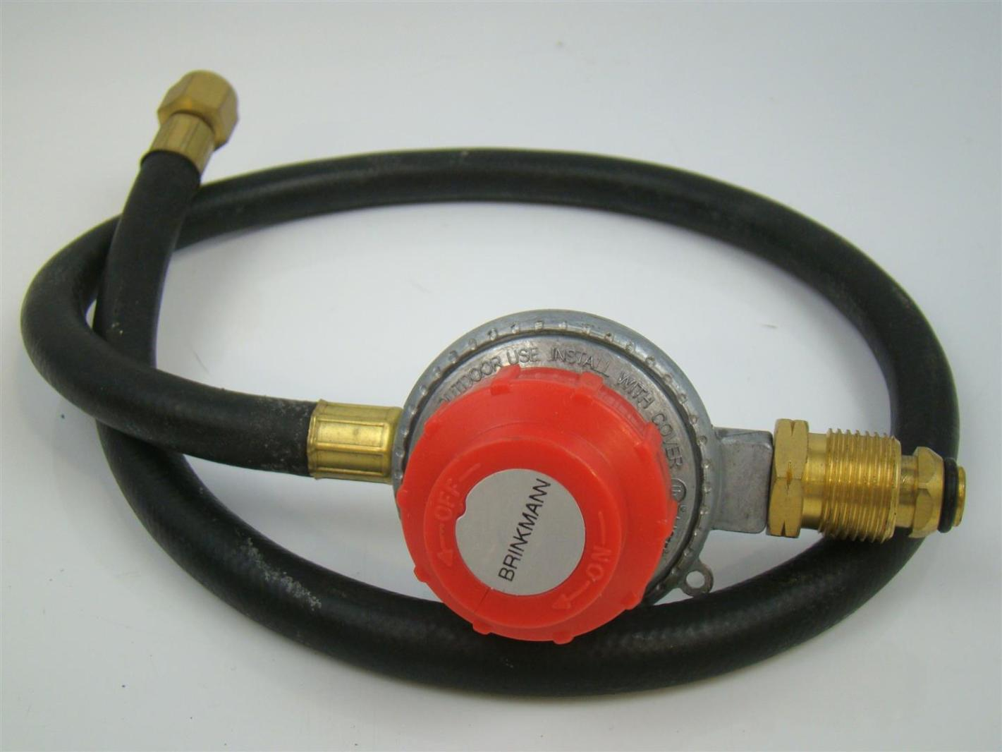 High Pressure Regulator : Brinkmann lp propane adjustable high pressure regulator