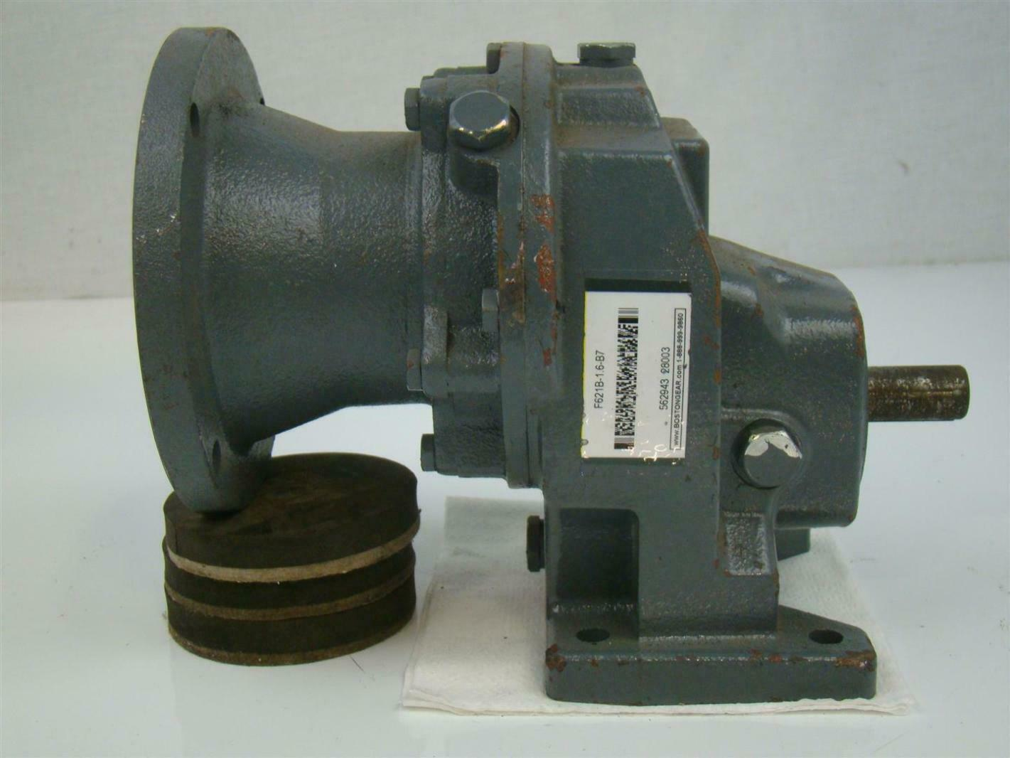 Boston Gear Reducer 6 1 Ratio F621b 1 6 B7 Joseph Fazzio