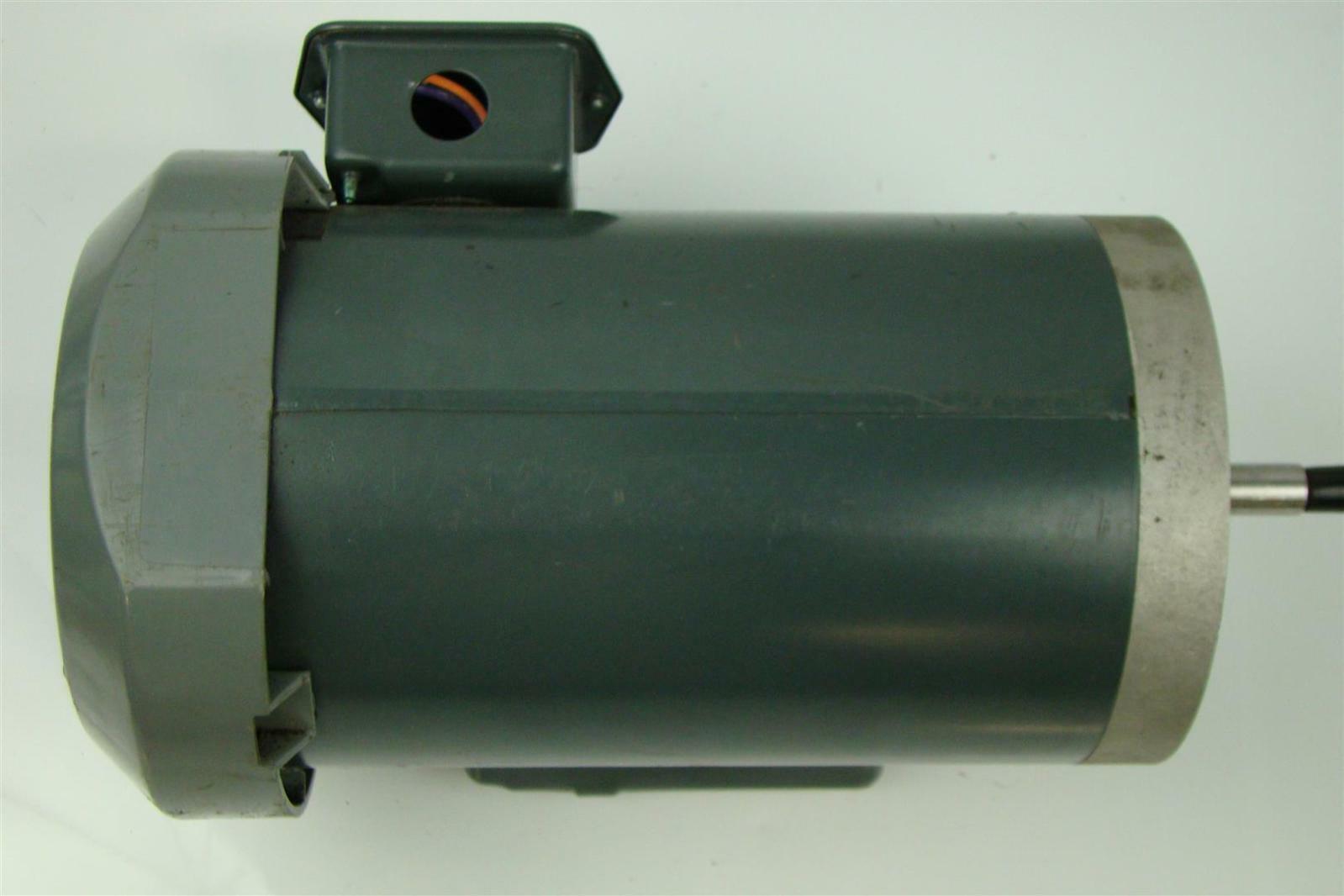 Ge Single Phase Motor 2hp 115 230v Rpm 3450 Frame 56j