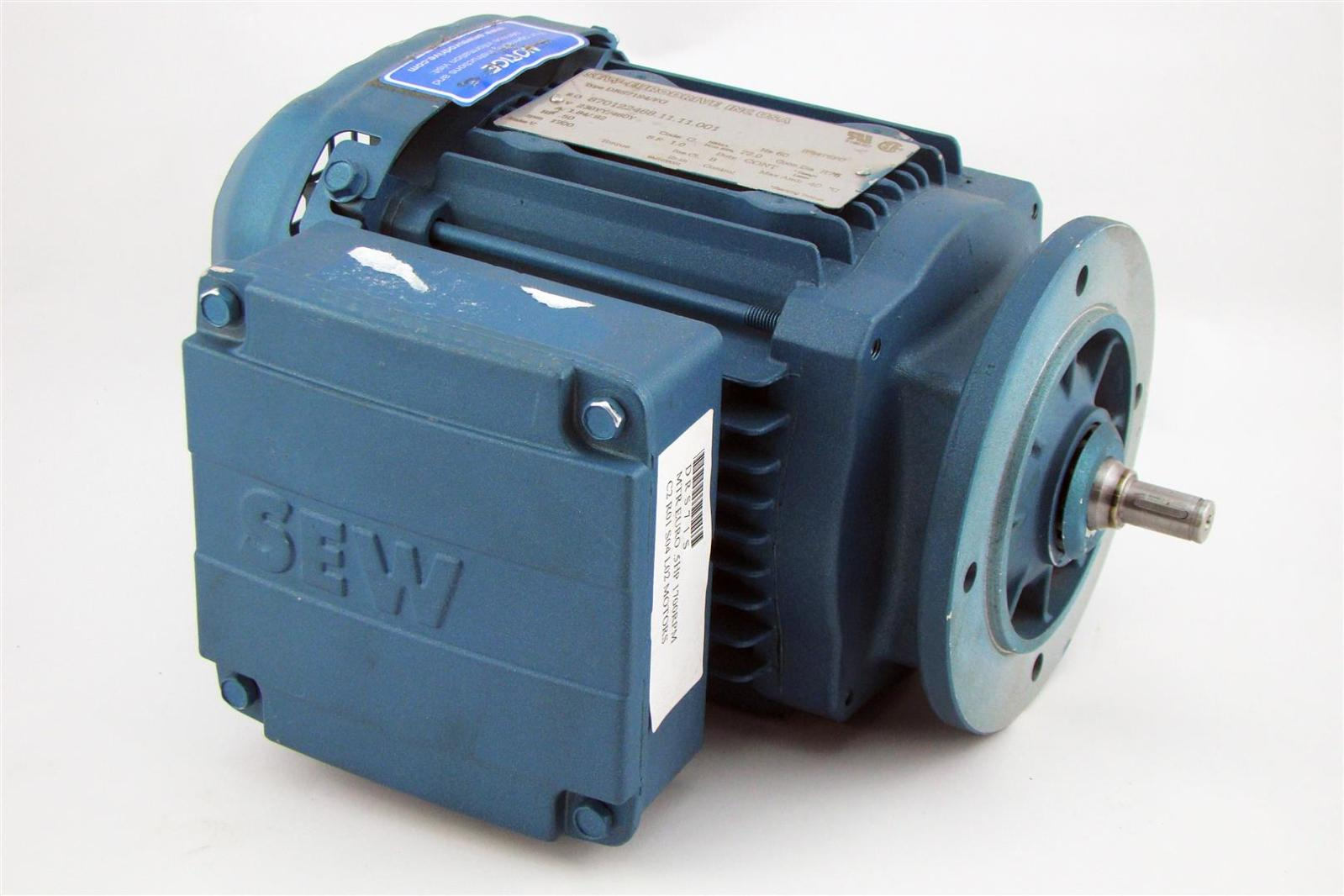 Sew Eurodrive Electric Motor 230 460v 60hz 92a 50hp