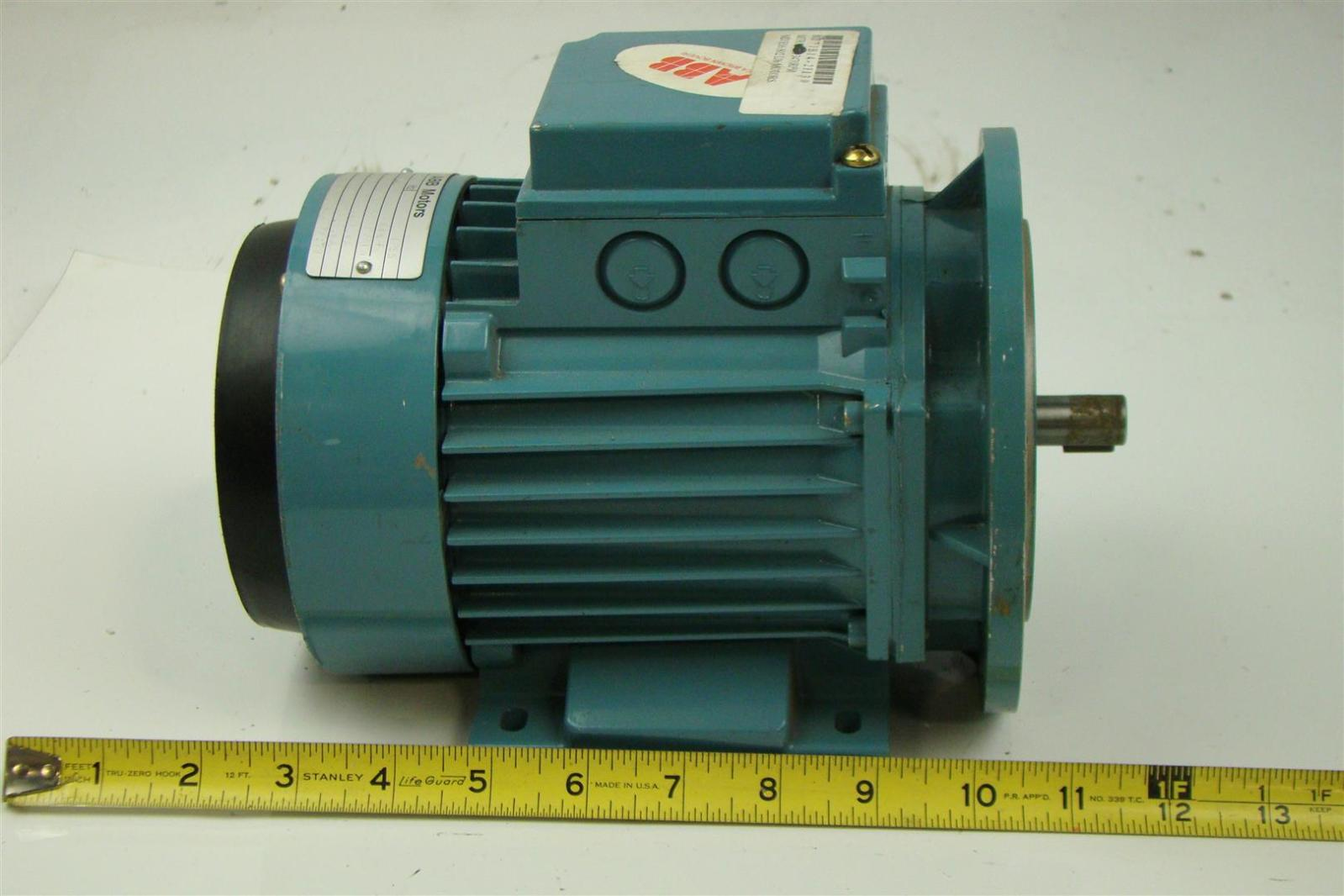 Abb Electric Motor 220v 440v 60hz 65kw 1hp Joseph