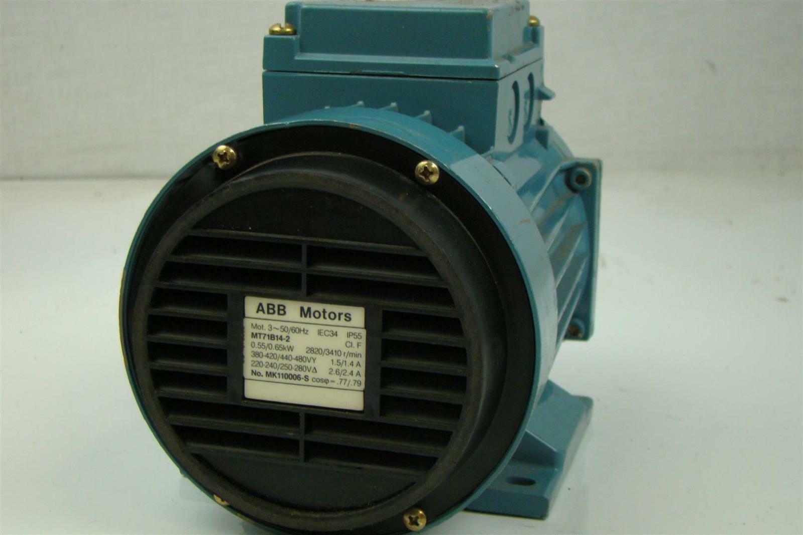 Abb electric motor 380 440v 60hz 65kw 1hp ebay for Abc electric motor repair
