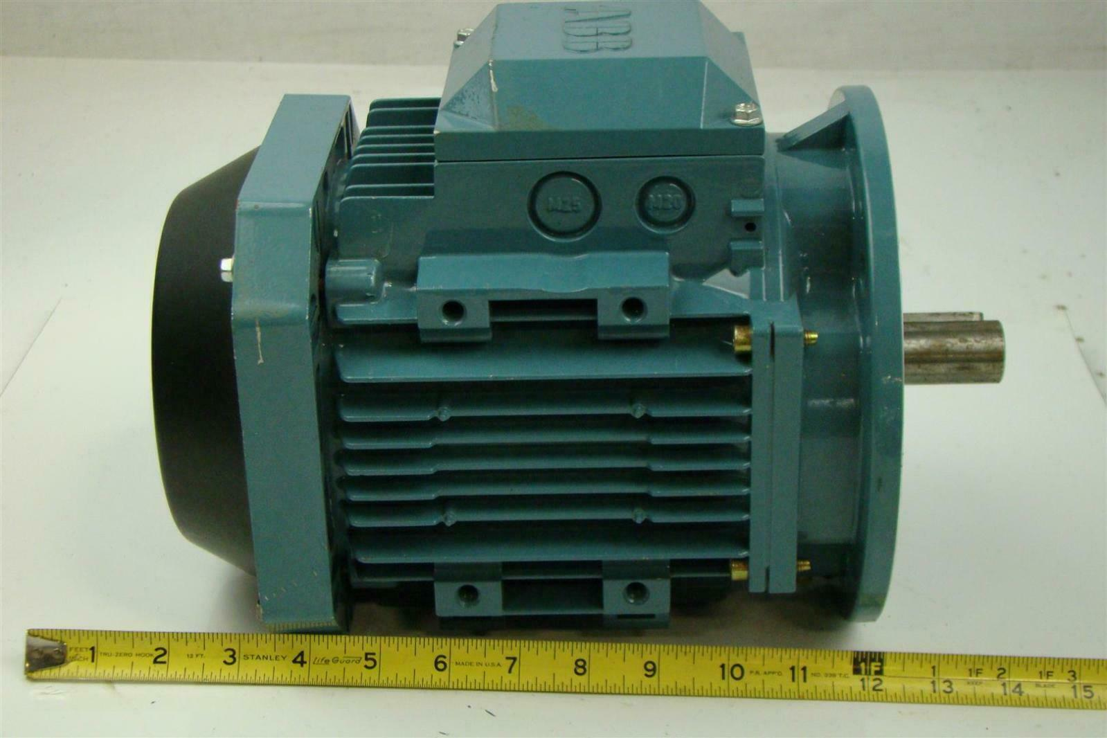 Abb Electricric Motor 2hp 255 480v 60hz 2 X 94 Shaft