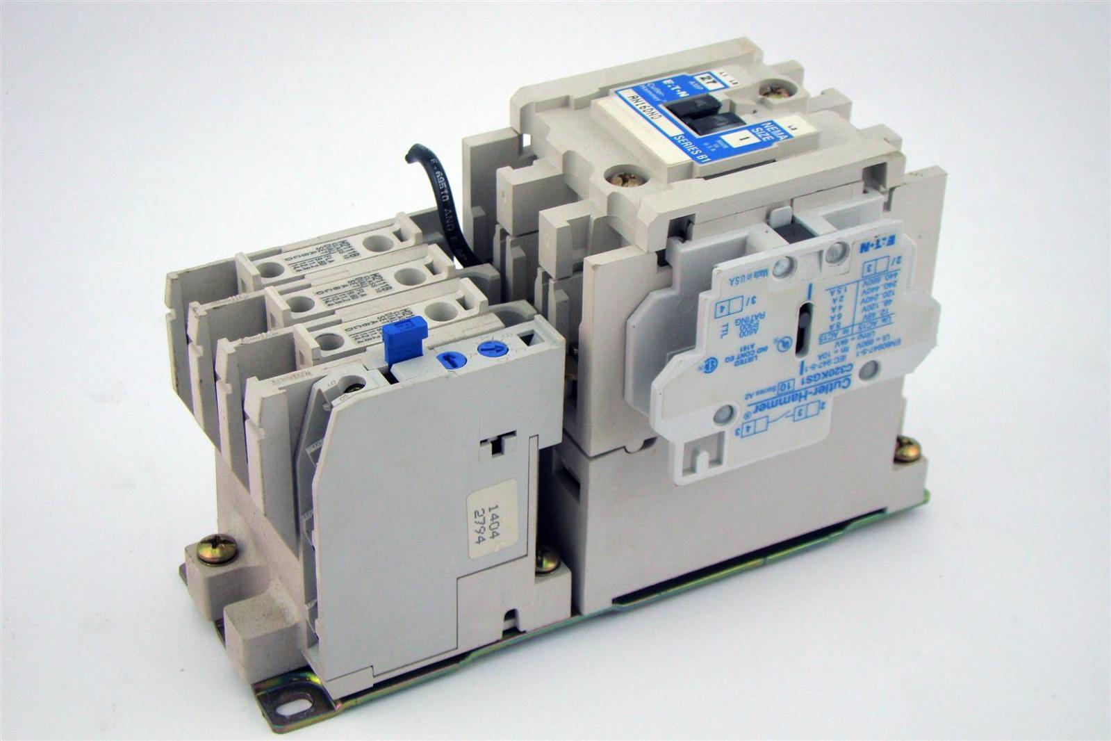 cutler hammer 27a 600v 3p motor starter overload switch