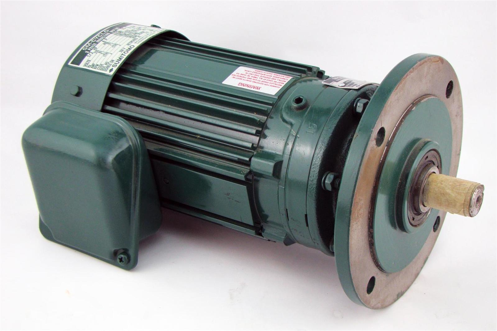 Sumitomo Sm Cyclo 3ph Induction Motor 1 2hp 230 460v 2 1a 1740rpm Cnvm054085ya15 Joseph Fazzio