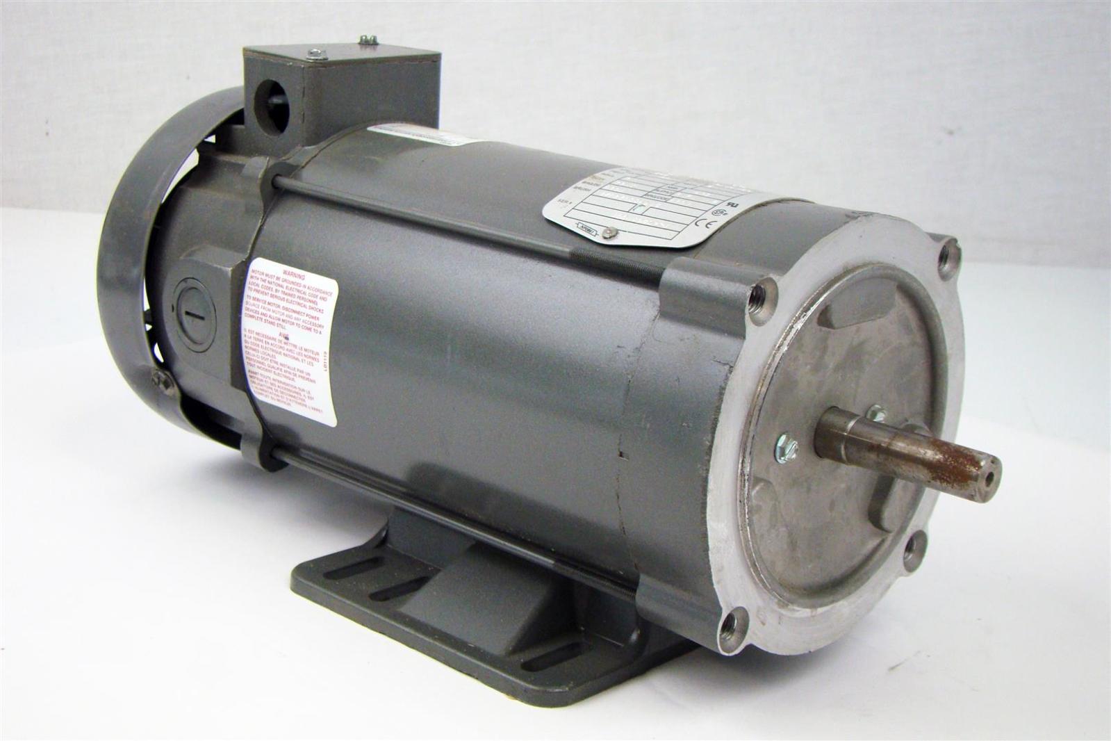 Baldor Dc Motor 1hp Enclosed 1750rpm 180v 5a Cdp3455
