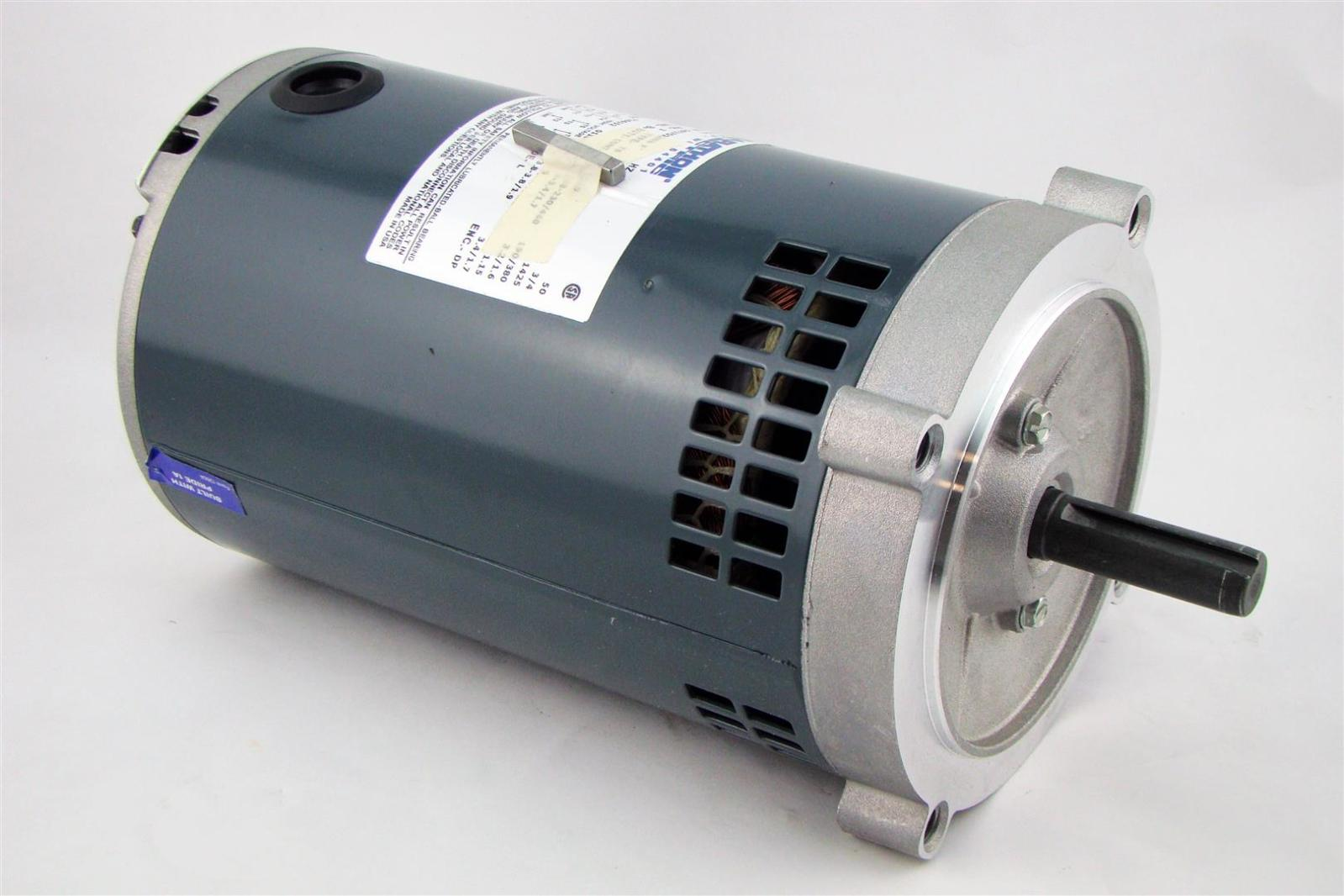 Marathon electric motor 1hp 1725rpm ph3 g221 ebay for Marathon electric motors model numbers