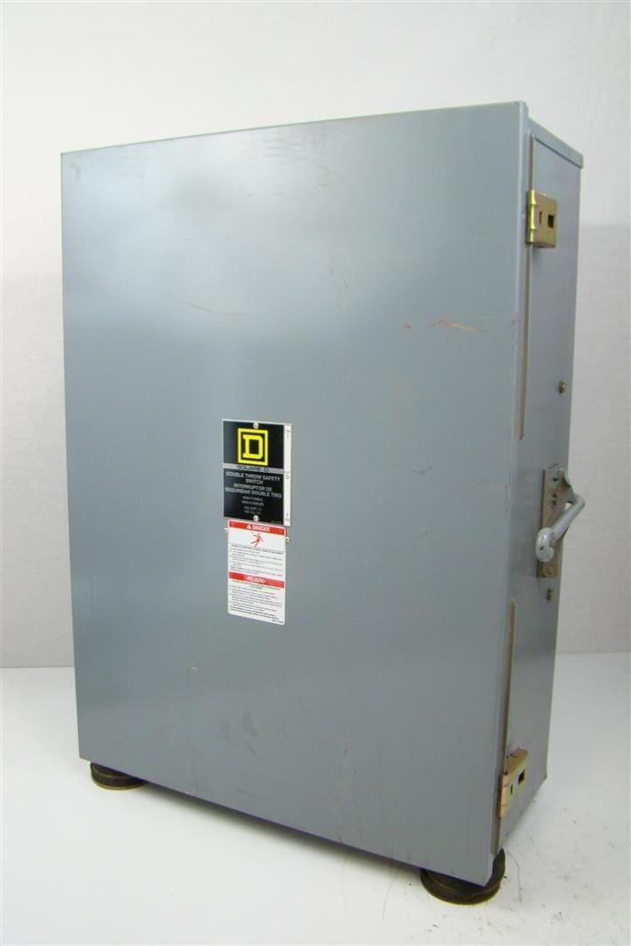 Square D 200a Transfer Switch Double Throw Manual Guide