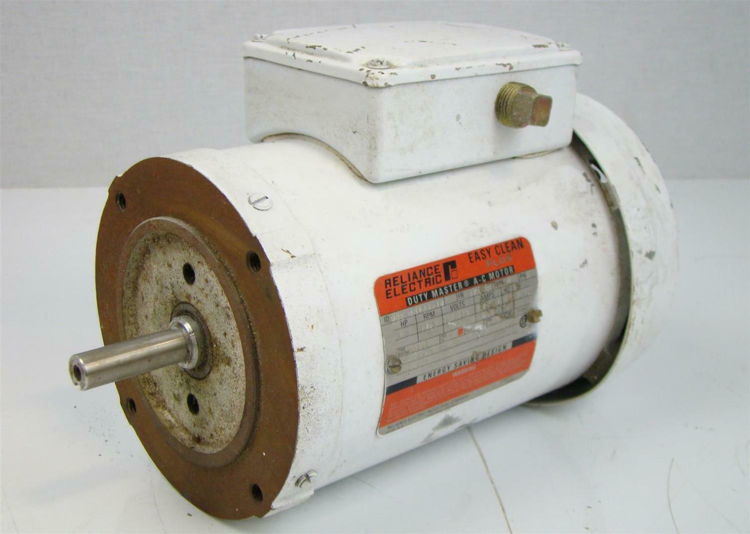 Reliance Electric Motor 1 5hp 1725rpm 460v 5 6a 3p