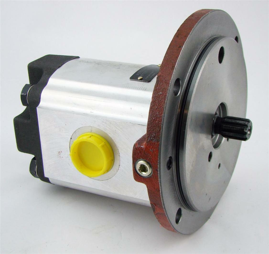Parker Hydraulic Pump 3349210024 62 Od Shaft 3 4 Ports