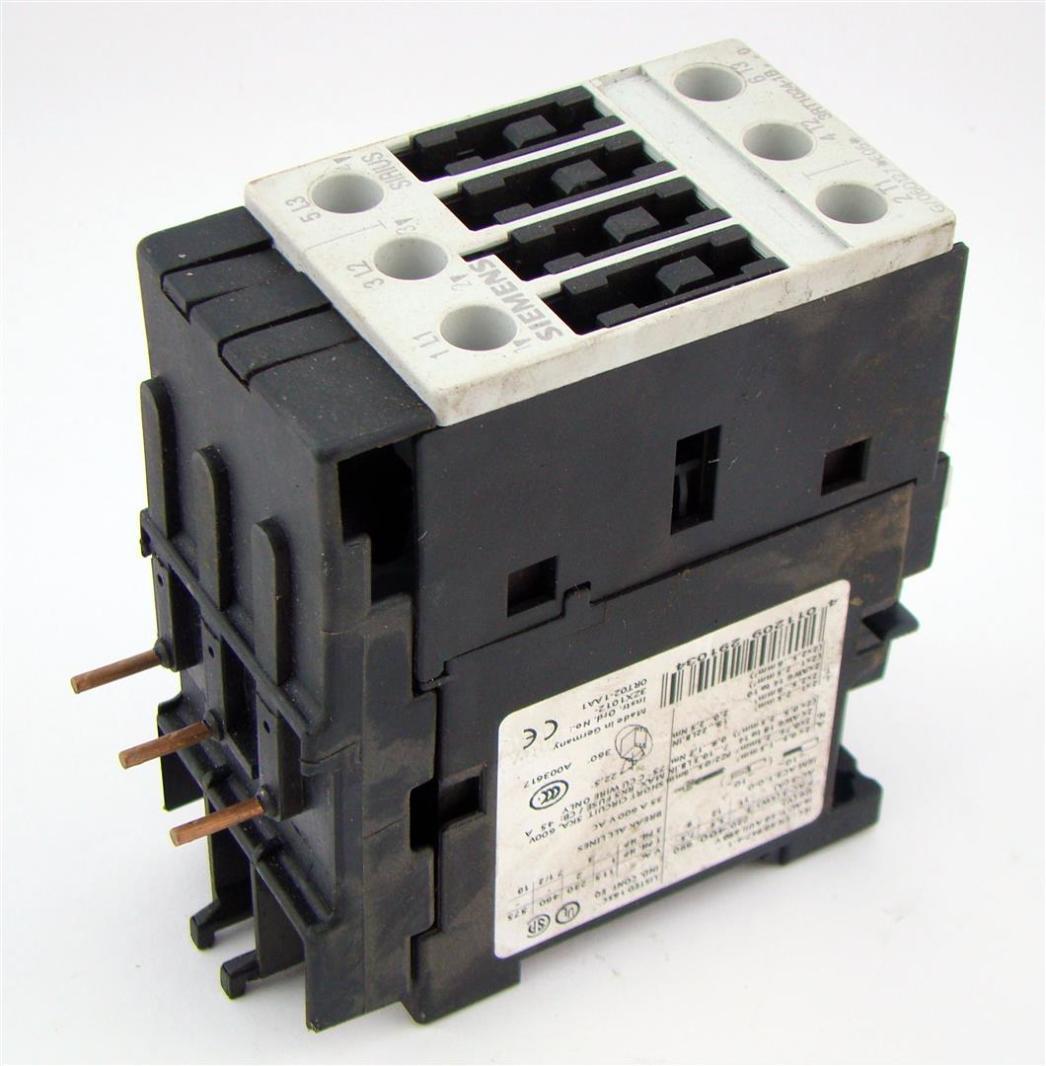 Siemens Iec En60947 4 1 Motor Starter 50 60 Hz 690v Ebay