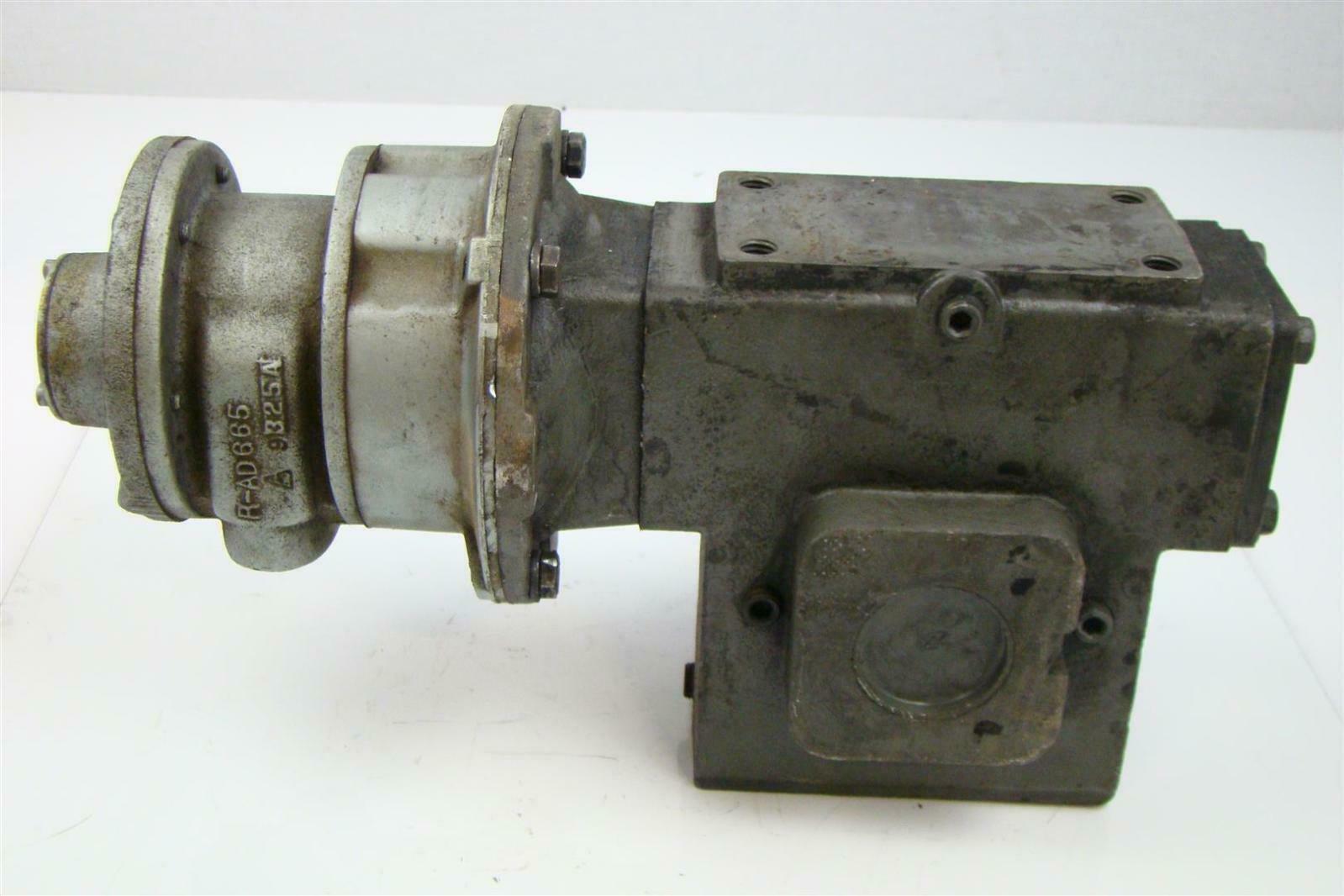Winsmith Gear Reducer 1750rpm 20 1 Ratio W Gast Air Motor