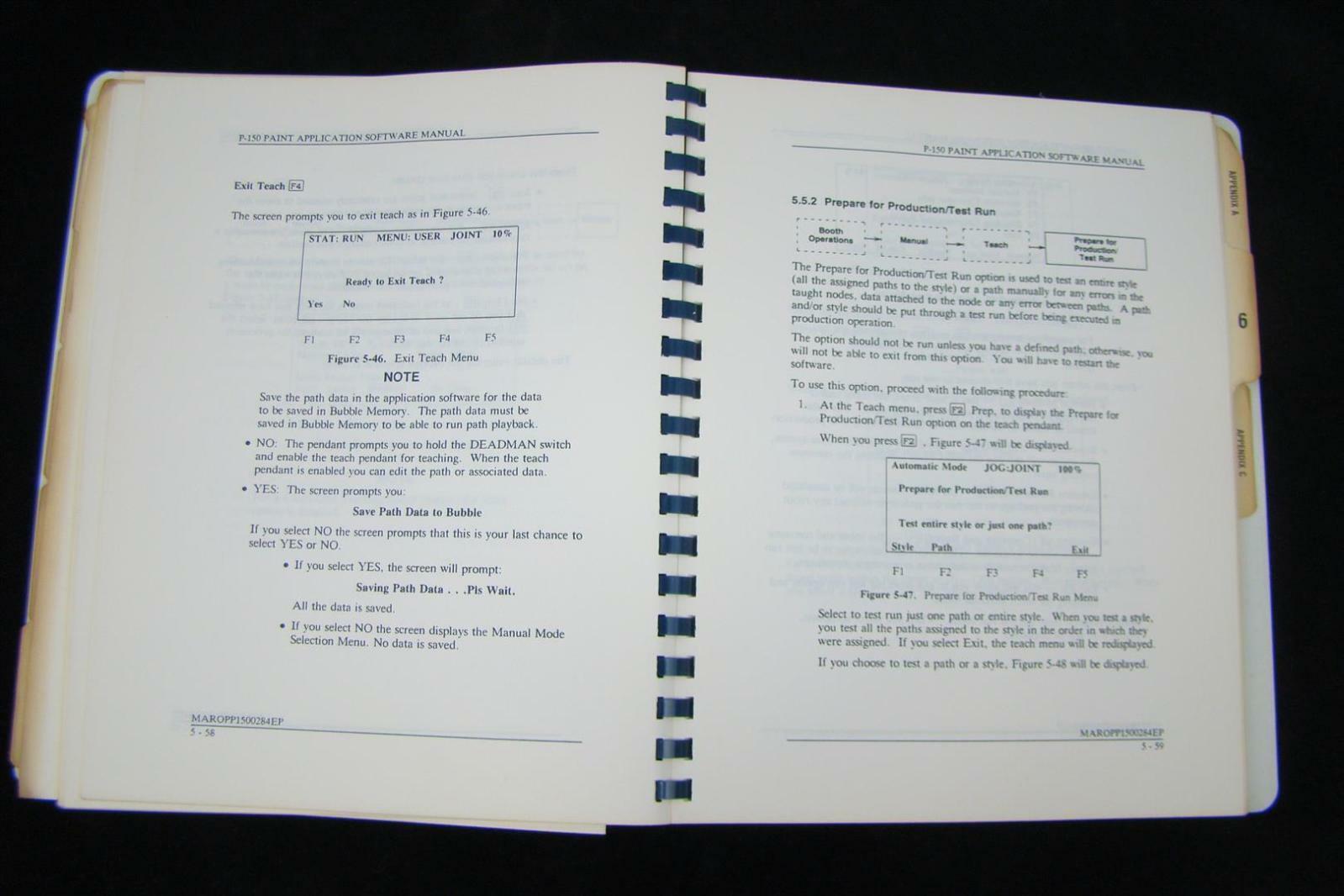 Fanuc Robotics P 150 Paint Application Software Manual V2
