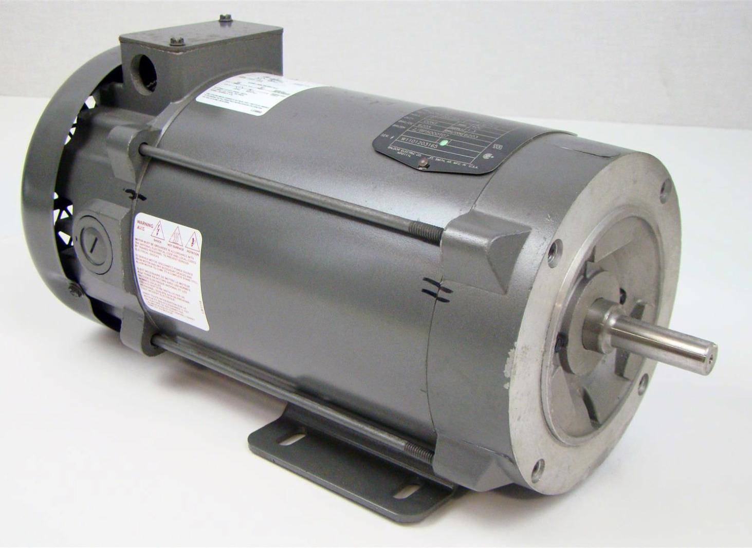 baldor reliancer dc motor 1750rpm 1hp 90v 35p442z390